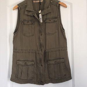 Olive Vest.